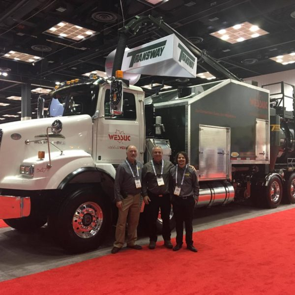 Transway's Terra-Vex Hydrovac at the 2017 WWETT Show In Indianapolis