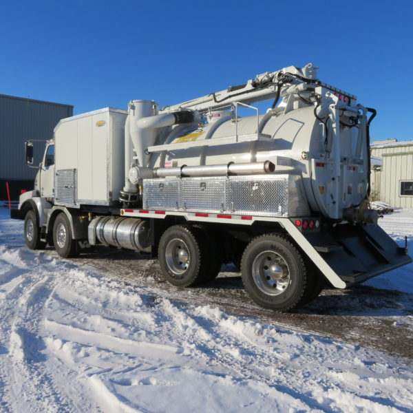 Transway Terra-Vex Hydrovac: No Winterization Required