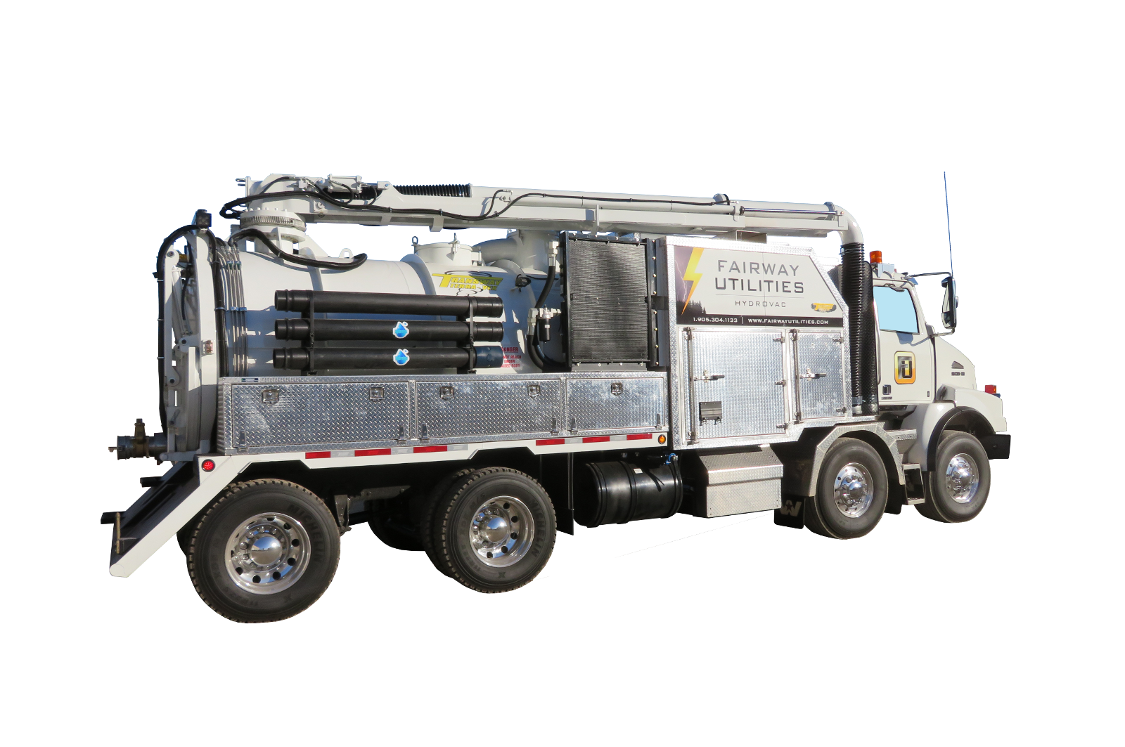 Hydro Excavation Trucks & Equipment for Sale from Transway