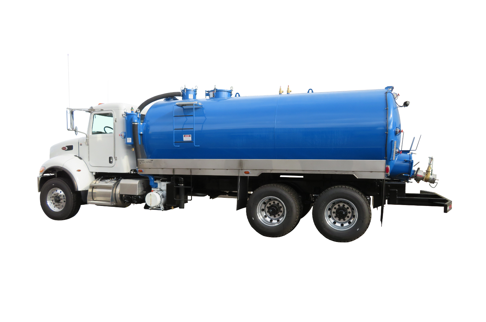 Septic Tank Pump Trucks manufactured by Transway Systems Inc